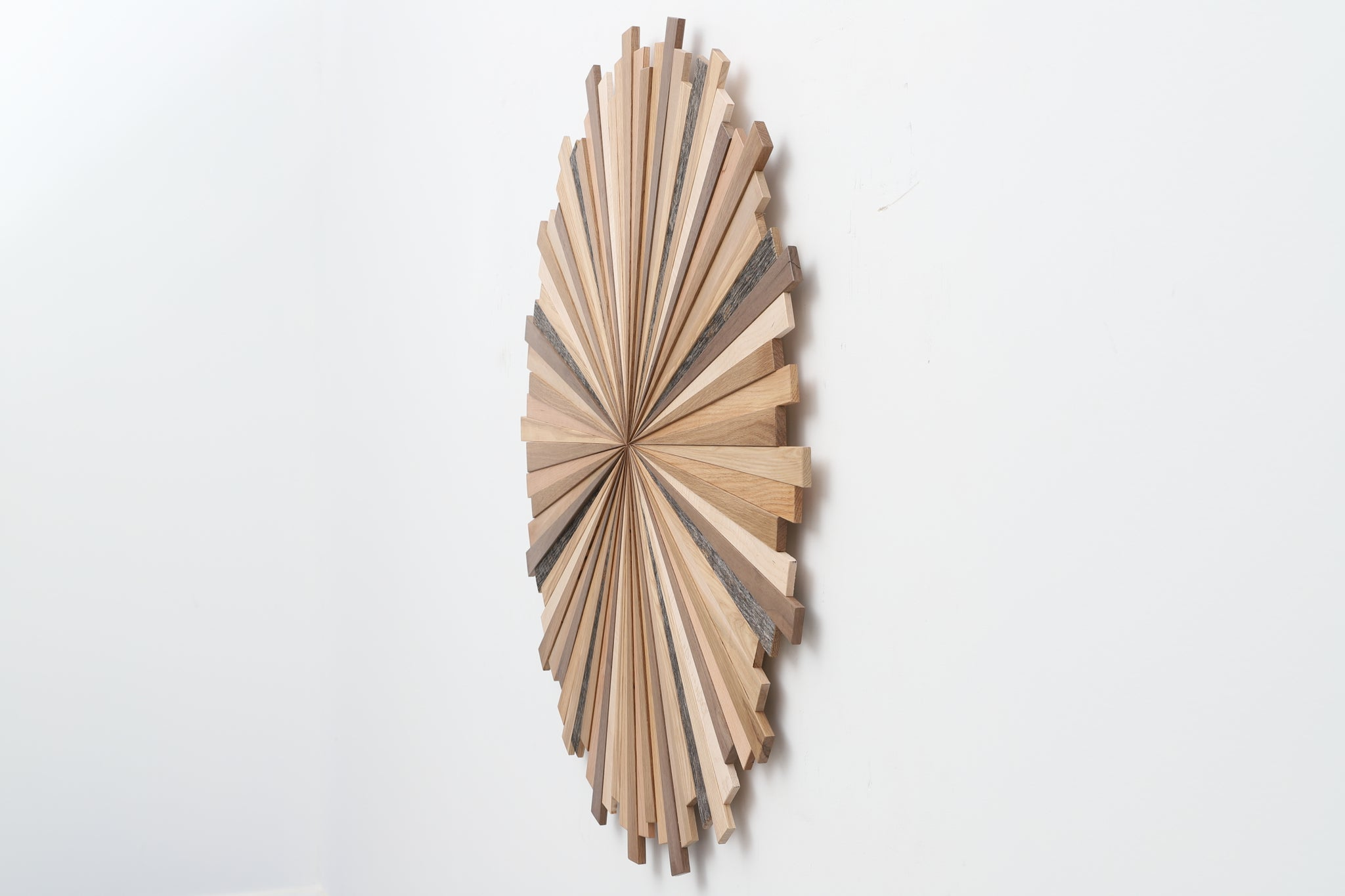 wood starburst artwork
