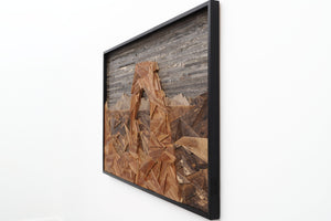 Delicate Arch, reclaimed wood wall art