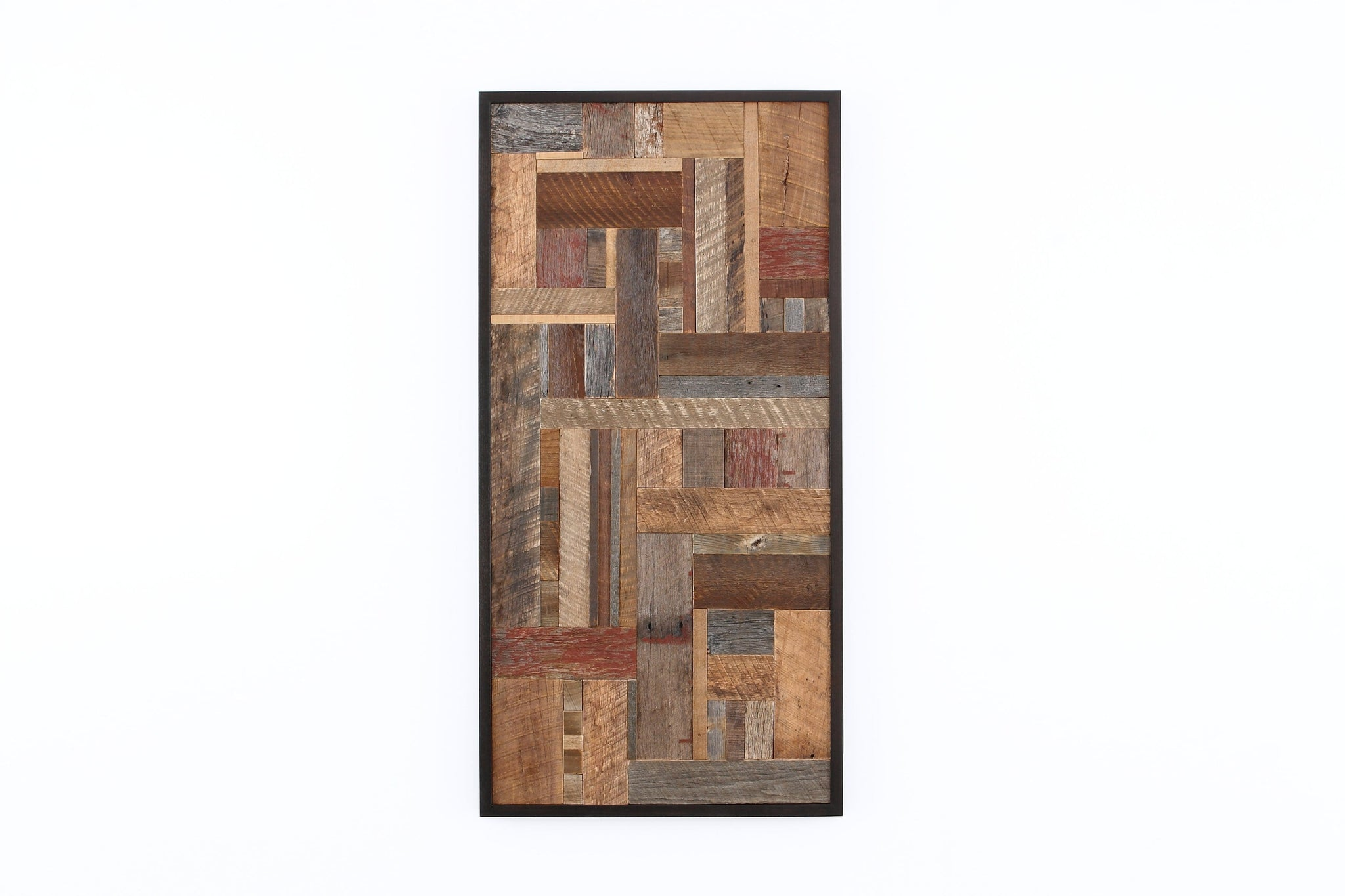 Mosaic wood wall art