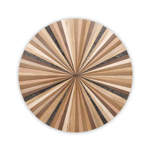 round wood wall art, circle wood art