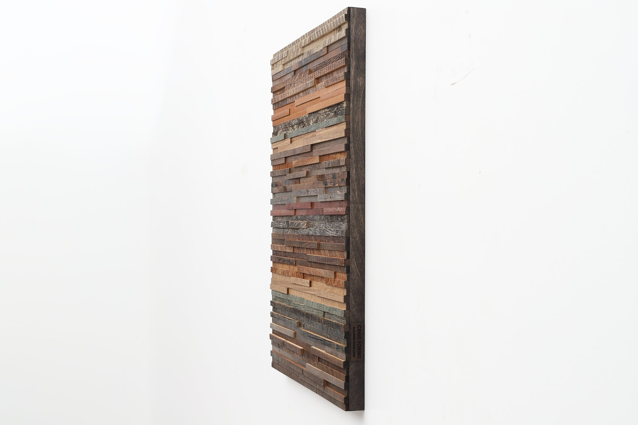 reclaimed wood wall art