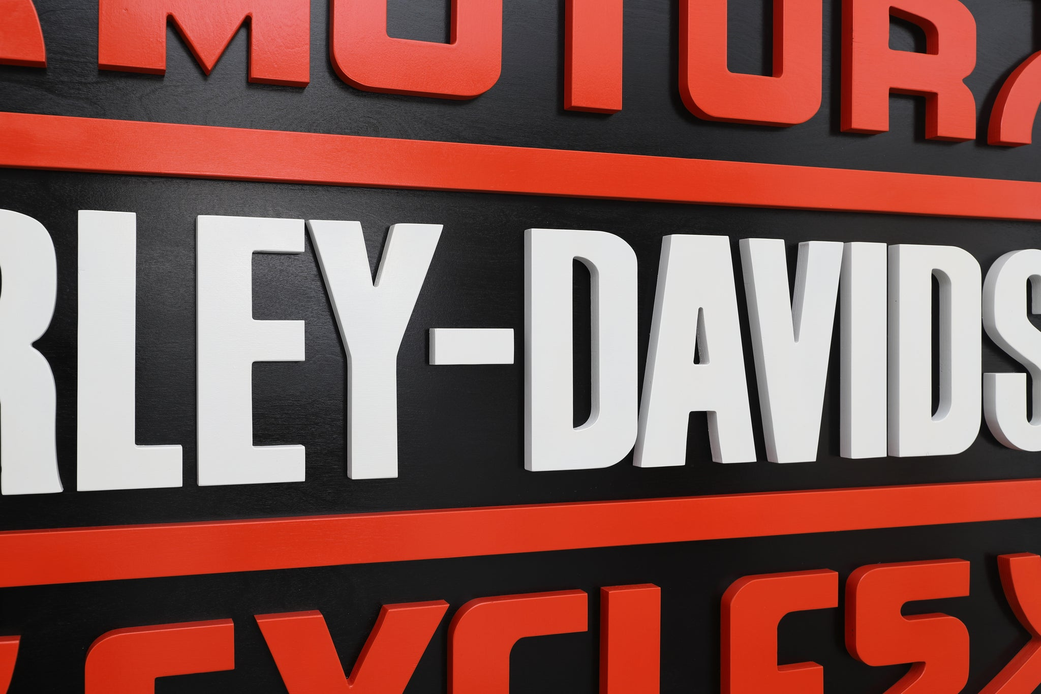 HARLEY-DAVIDSON wood sign