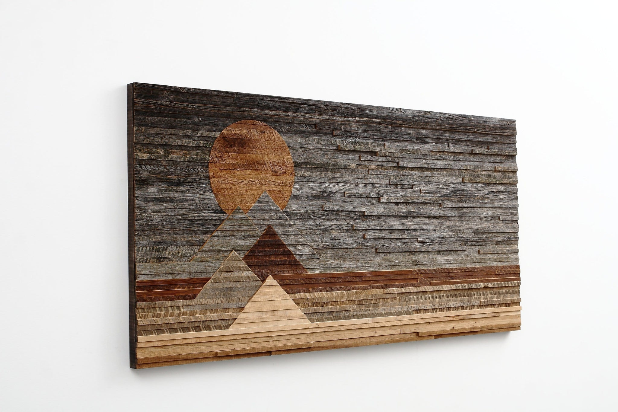 Blood Moon, wood wall art