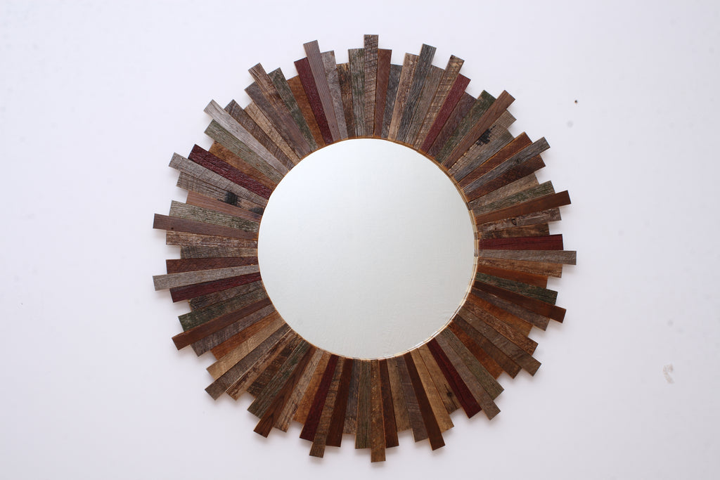 Sunburst mirror 34""