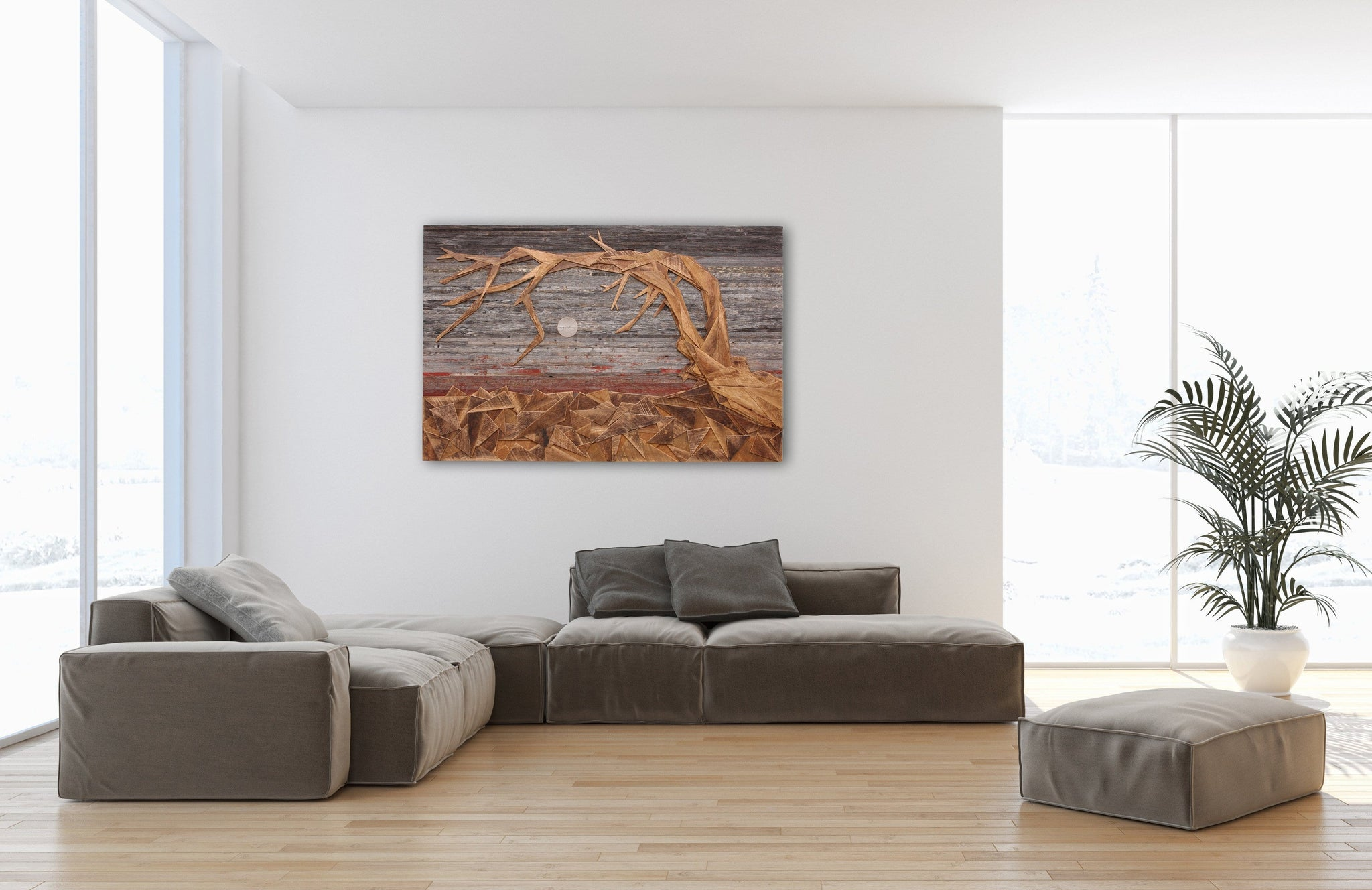 Jeffrey Pine, yosemite national park, wood wall art
