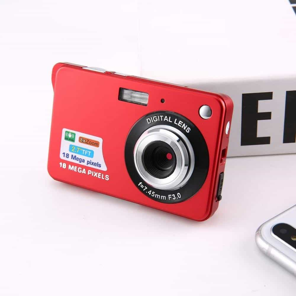 2.7 Inch Ultra-thin 18 MP HD Digital Camera, [variant_title], [option1], [option2], [option3] - anythinganyware