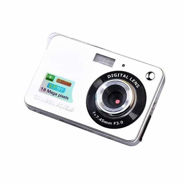 2.7 inch Ultra-thin 18 MP Hd Digital Camera Children's Camera, Gray, Gray, [option2], [option3] - anythinganyware