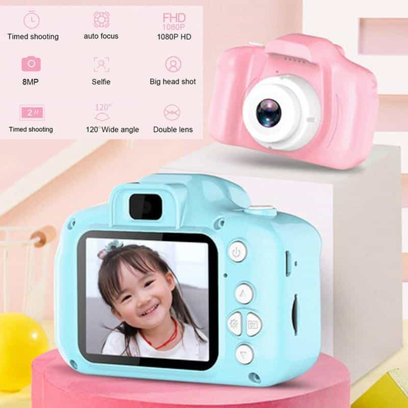 2 Inch HD Screen Chargable Digital Mini Camera, [variant_title], [option1], [option2], [option3] - anythinganyware