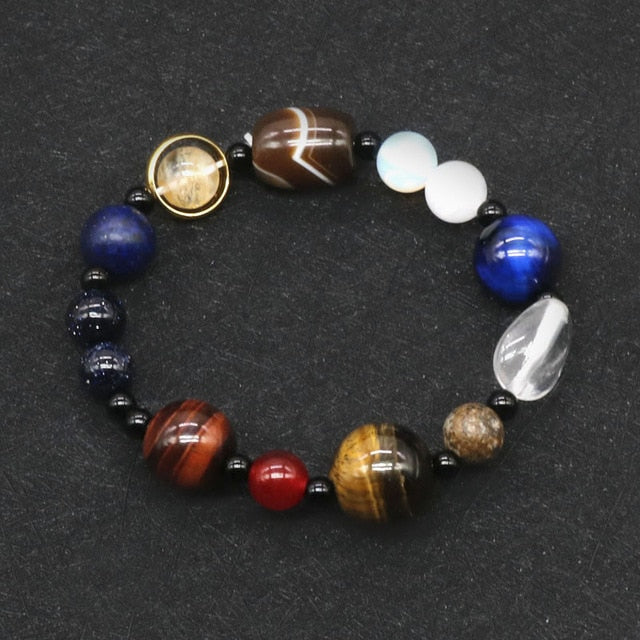 2019 Eight Planets Bead Bracelet Men, Planet 4, Planet 4, [option2], [option3] - anythinganyware