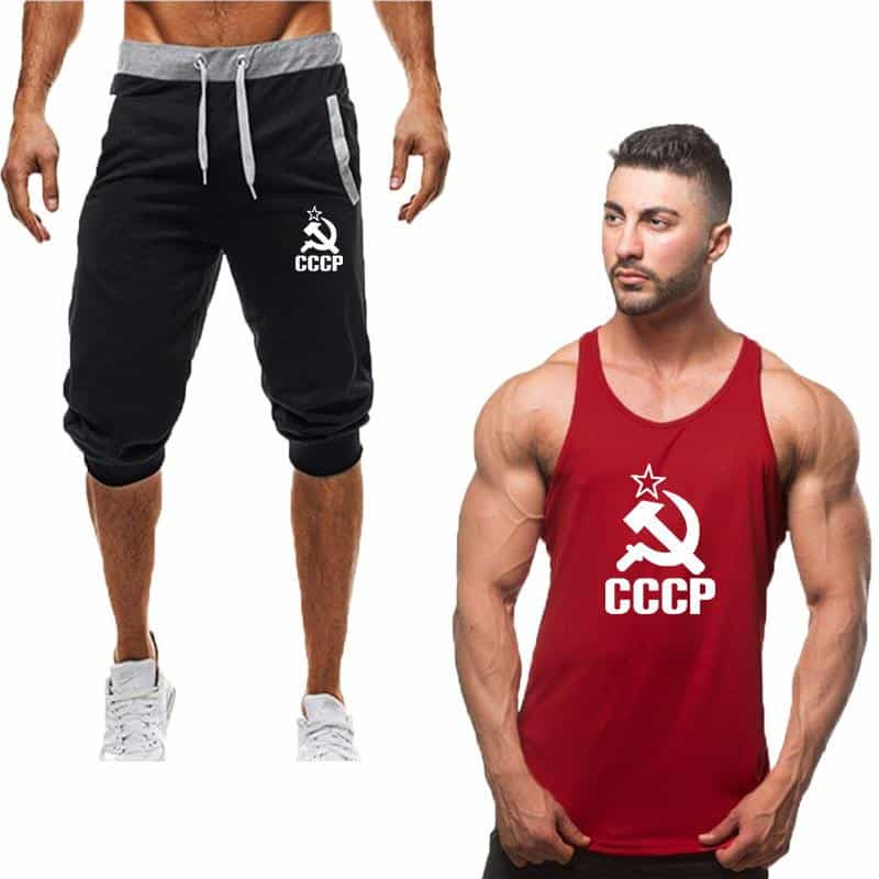 Fashion new tracksuit men Two Piece short pant, [variant_title], [option1], [option2], [option3] - anythinganyware