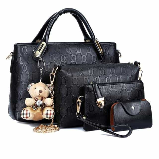 Elegant 1 Set Women Lady Shoulder Crossbody Bag, Black, Black, [option2], [option3] - anythinganyware