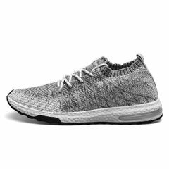 Beathable Air Mesh Men Casual Shoes, Gray / 44, Gray, 44, [option3] - anythinganyware