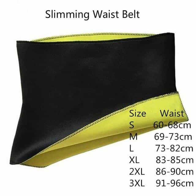Slimming Body Shaper Tummy Shapewear Fat Burning, Slimming Waist Belt / M, Slimming Waist Belt, M, [option3] - anythinganyware