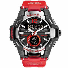 2019 Men Watches Sport Watch Waterproof, Red / China, Red, China, [option3] - anythinganyware