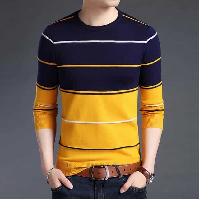 2019 New Fashion Brand Sweater Mens, Navy Blue / 4XL, Navy Blue, 4XL, [option3] - anythinganyware