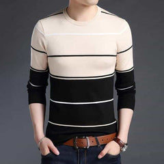 2019 New Fashion Brand Sweater Mens, Camel / L, Camel, L, [option3] - anythinganyware
