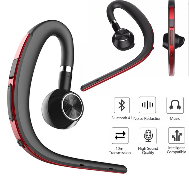 2019 New Fashion Men Business Hands Free Noise Cancelling Earphone