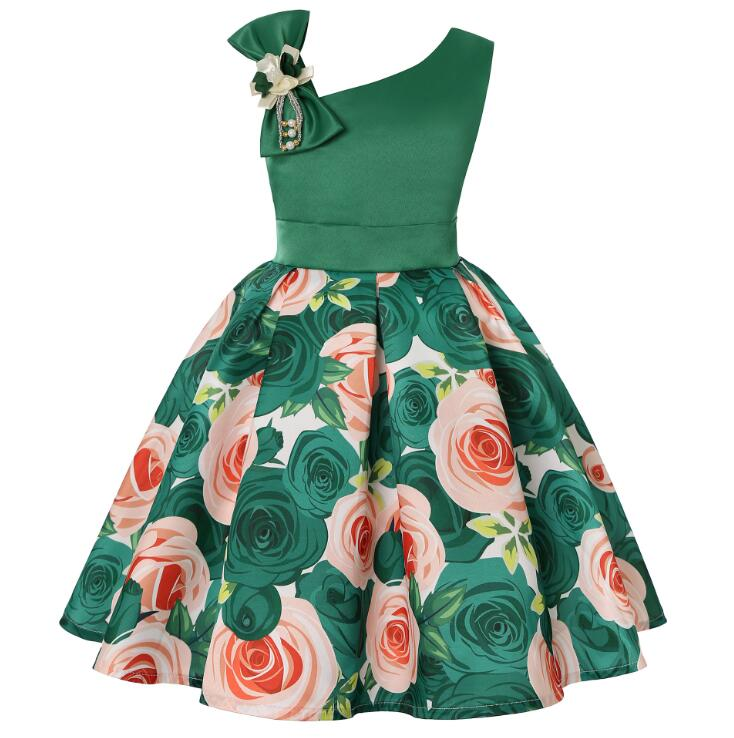 2019 New Girls Summer Dress Girls, [variant_title], [option1], [option2], [option3] - anythinganyware