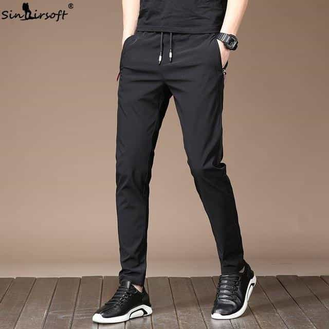 2019 New Men's Summer Casual Pants, Black / 28, Black, 28, [option3] - anythinganyware