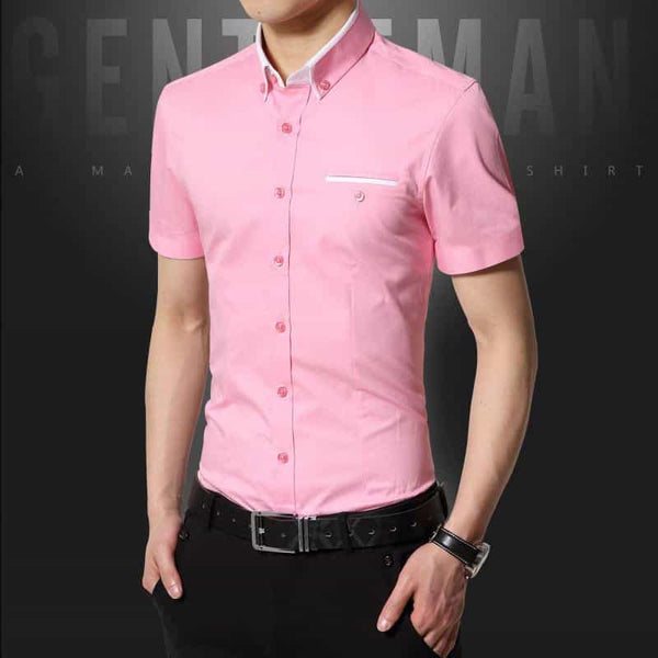2019 New Summer Casual Shirt Men, [variant_title], [option1], [option2], [option3] - anythinganyware