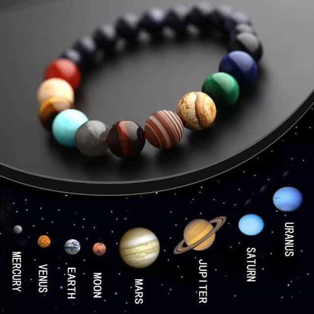 2019 Space Eight Planets Bracelet Women, planet 1, planet 1, [option2], [option3] - anythinganyware