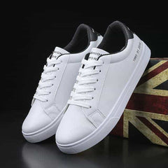 2019 Spring White Shoes Men Casual Shoes Male Sneakers, White and black / 8.5, White and black, 8.5, [option3] - anythinganyware