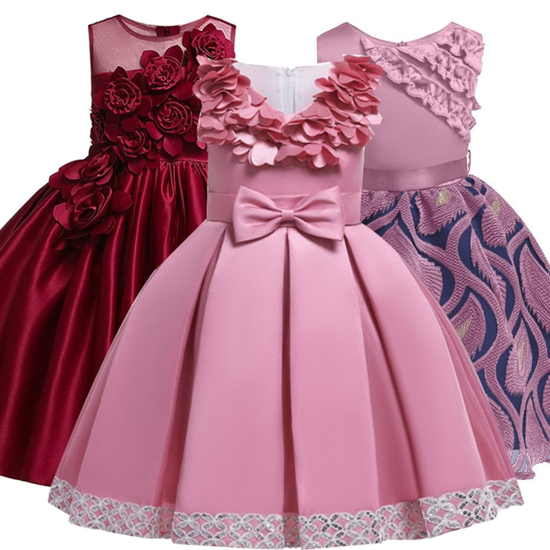 2019 Summer Elegant Children Tutu Princess Dress, [variant_title], [option1], [option2], [option3] - anythinganyware