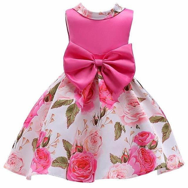 2019 Summer Elegant Children Tutu Princess Dress, Mei Red82 / 2T83, Mei Red82, 2T83, [option3] - anythinganyware