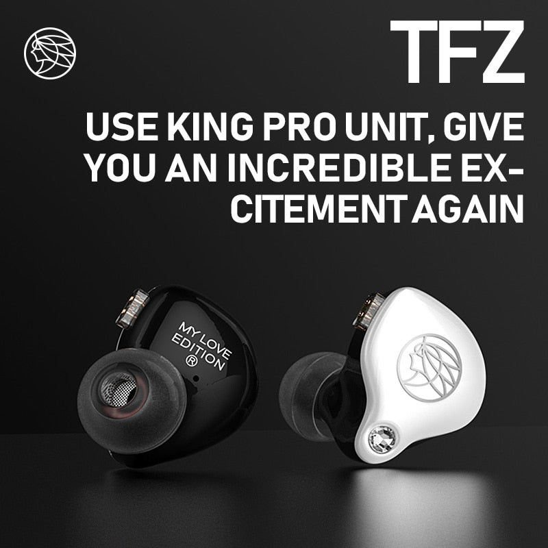 2019 TFZ Mylove edition In Ear Hifi Earphone, [variant_title], [option1], [option2], [option3] - anythinganyware