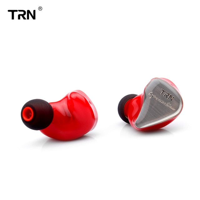 2019 TRN IM1 1DD+1BA Hybrid In Ear Earphone, Red no mic, Red no mic, [option2], [option3] - anythinganyware