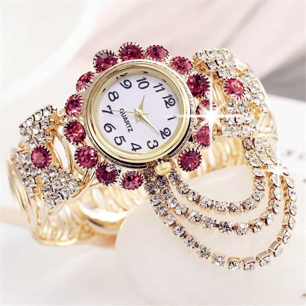 2019 Top Brand Luxury Rhinestone Bracelet Watch, [variant_title], [option1], [option2], [option3] - anythinganyware
