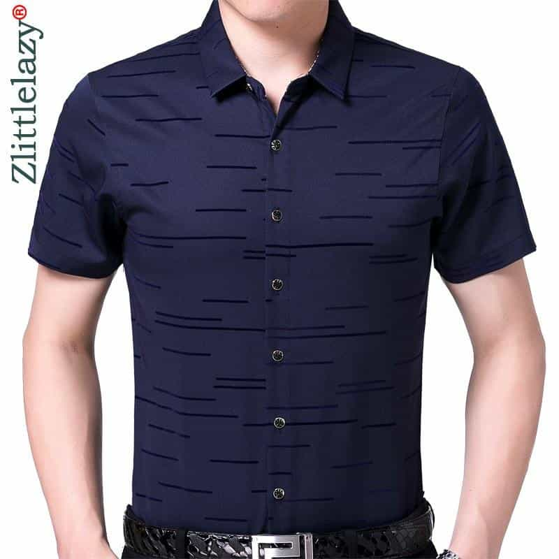 2019 new summer short sleeve men shirt, [variant_title], [option1], [option2], [option3] - anythinganyware