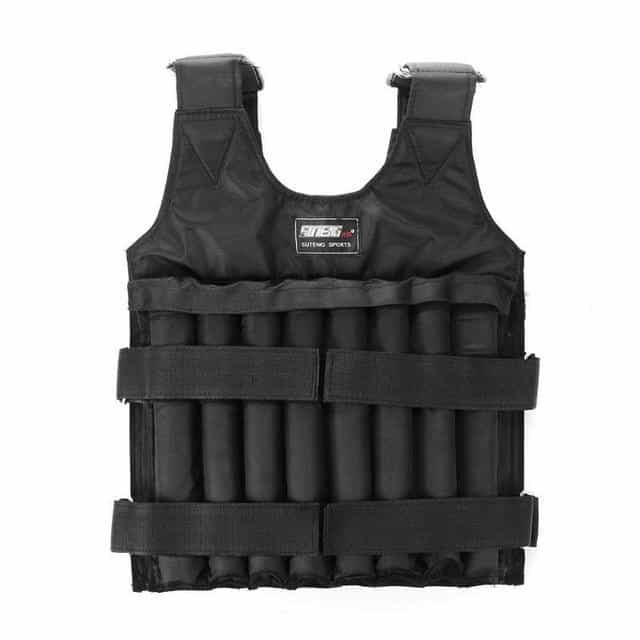 20KG 50KG Max Loading Weighted Vest, Black, Black, [option2], [option3] - anythinganyware