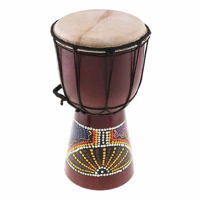 4 Inch 6 Inch Professional African Djembe Drum Wood, 6 Inch, 6 Inch, [option2], [option3] - anythinganyware