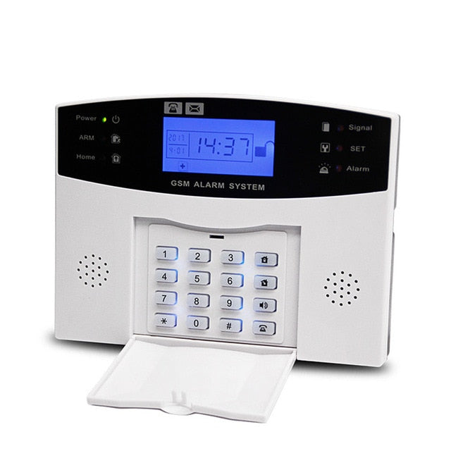 433Mhz Wireless Home GSM Security Alarm System, China / Alarm PG-500 / EU Plug,French, China, Alarm PG-500, EU Plug,French - anythinganyware