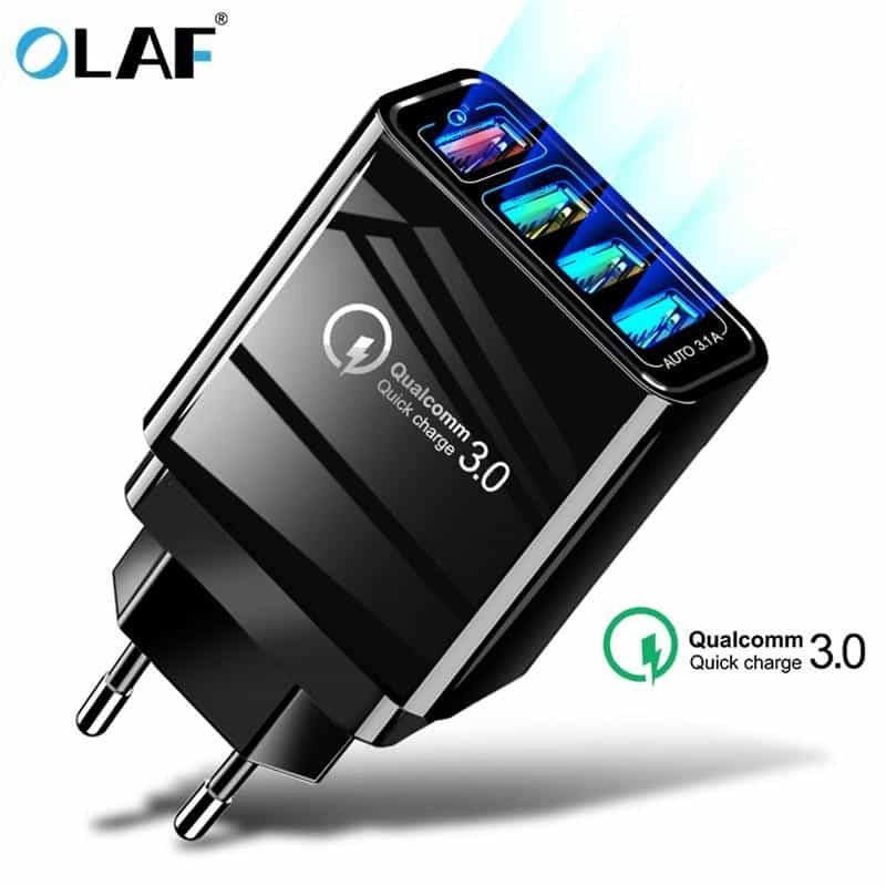 48W Quick Charger 3.0 USB Charger, [variant_title], [option1], [option2], [option3] - anythinganyware