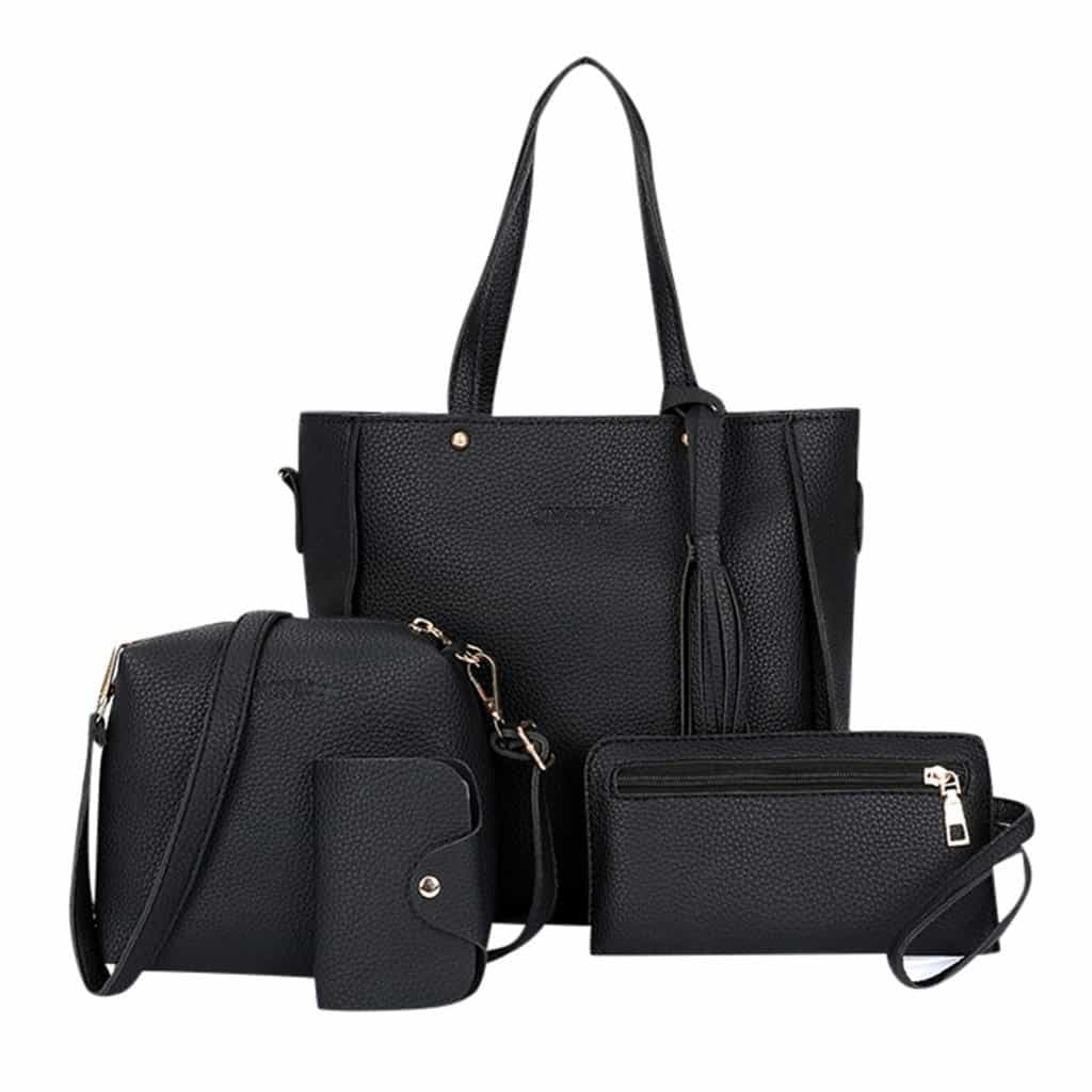 4pcs Woman Bag Set, [variant_title], [option1], [option2], [option3] - anythinganyware