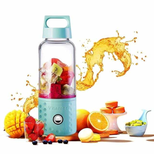 500ml Portable Blender, Blue, Blue, [option2], [option3] - anythinganyware