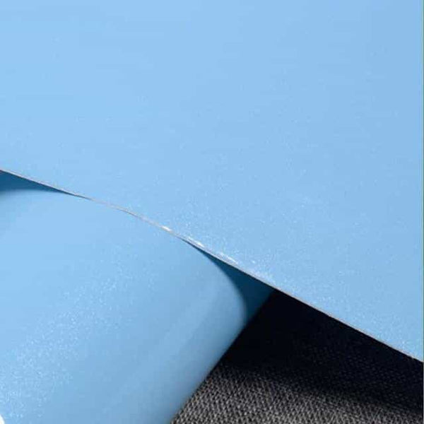 5M DIY Contact Paper PVC Waterproof Self Adhesive Wallpaper, Sky Blue / China / 60cm X 5m, Sky Blue, China, 60cm X 5m - anythinganyware