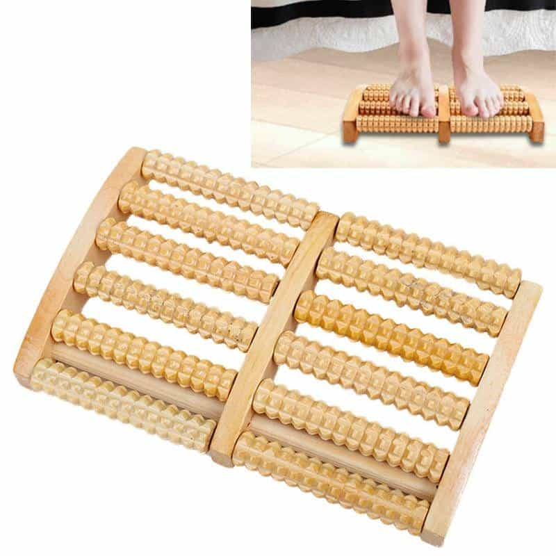 6 Raw Wooden Foot Roller Wood Care Massage, [variant_title], [option1], [option2], [option3] - anythinganyware