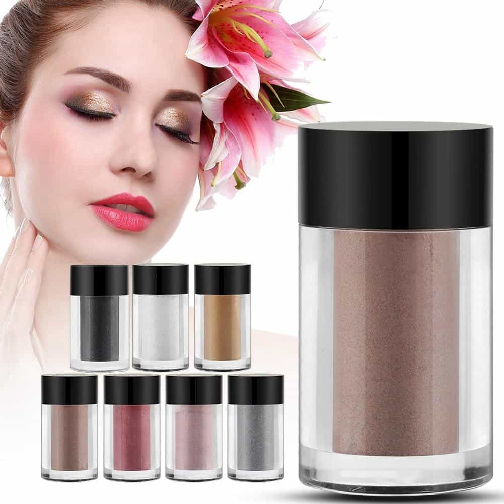 7 Colors Glitter Eyes Pigment Loose Powder Eye Makeup Cosmetic Powder Eye Glitter, [variant_title], [option1], [option2], [option3] - anythinganyware