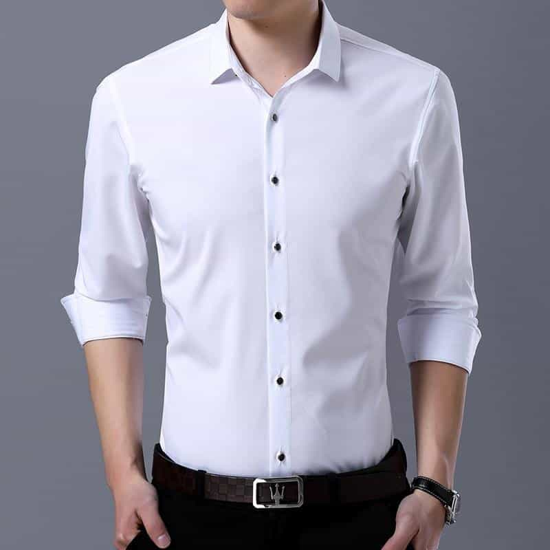 9 Colors High Quality Dress Shirts, [variant_title], [option1], [option2], [option3] - anythinganyware