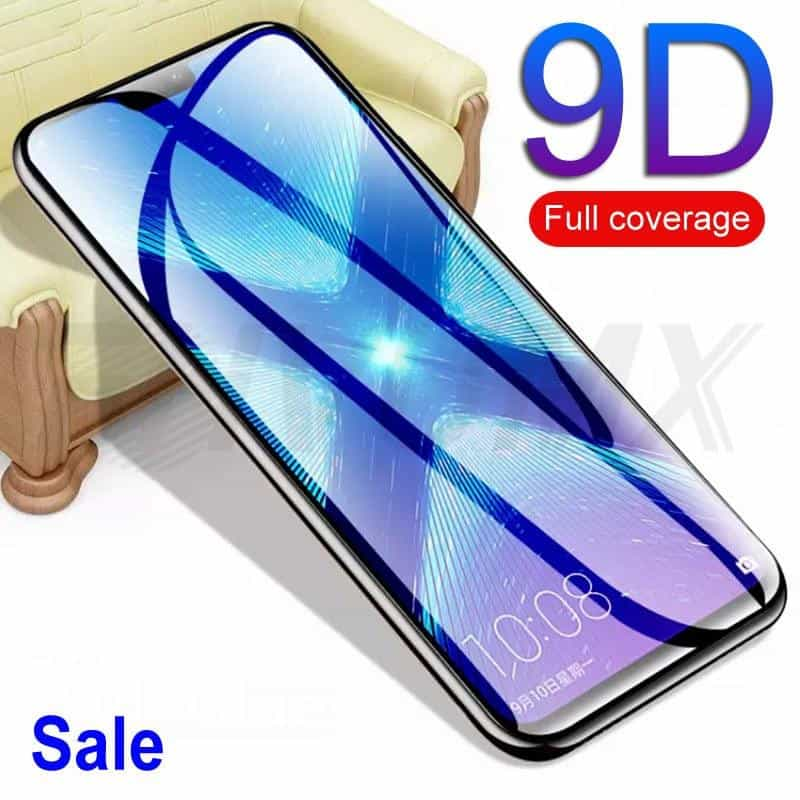 9D Protective Glass  Tempered Screen Protector Glass Film, [variant_title], [option1], [option2], [option3] - anythinganyware