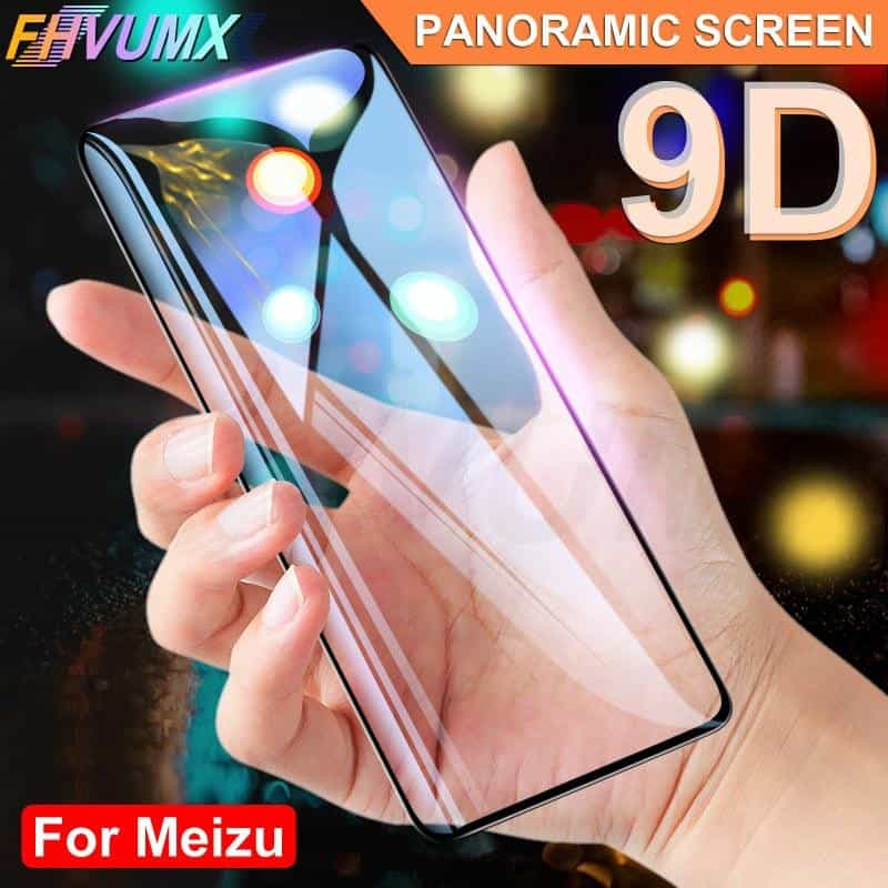 9D Protective Glass Tempered Screen Protector Glass, For Meizu M6 Note / White, For Meizu M6 Note, White, [option3] - anythinganyware