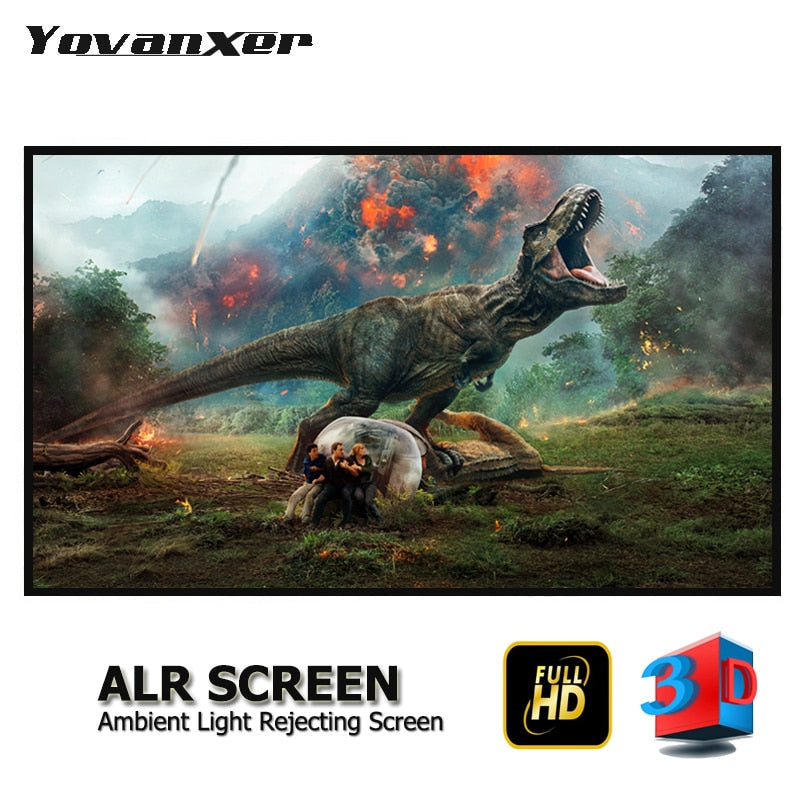 Light Rejecting ALR Slim Frame Projector Screen