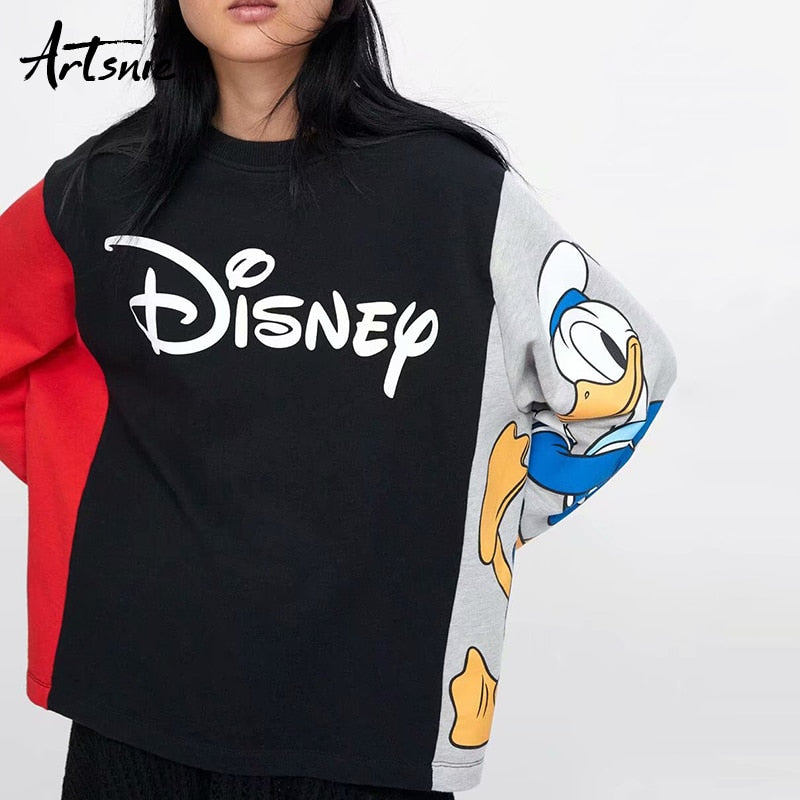 streetwear cartoon print women sweatshirt, [variant_title], [option1], [option2], [option3] - anythinganyware