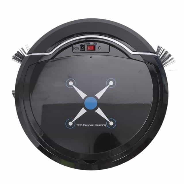 Automatic Vacuum Cleaner Robot, Black, Black, [option2], [option3] - anythinganyware