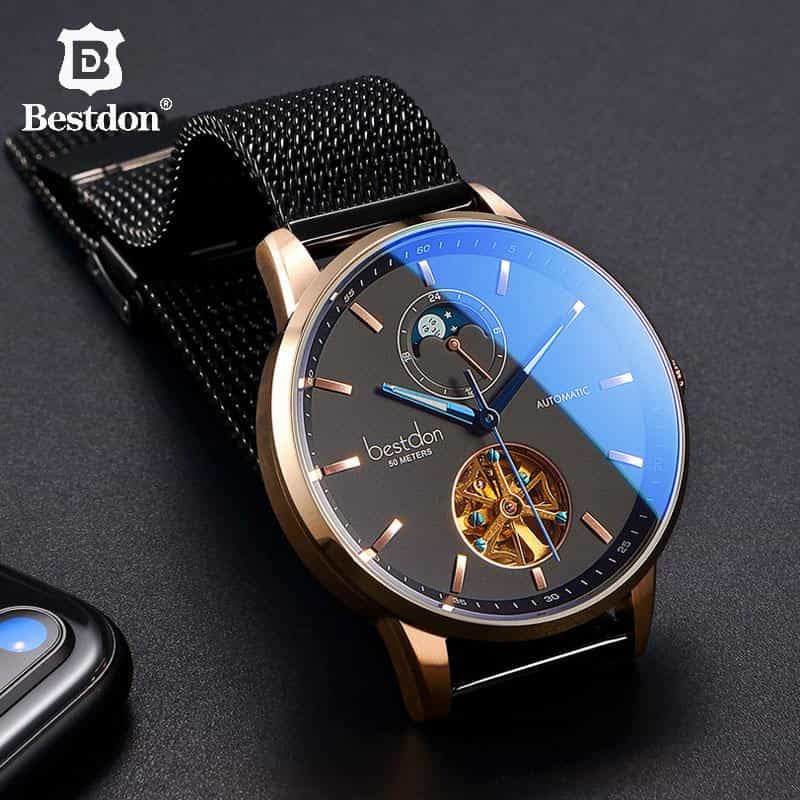 Bestdon Luxury Mechanical Watch, [variant_title], [option1], [option2], [option3] - anythinganyware