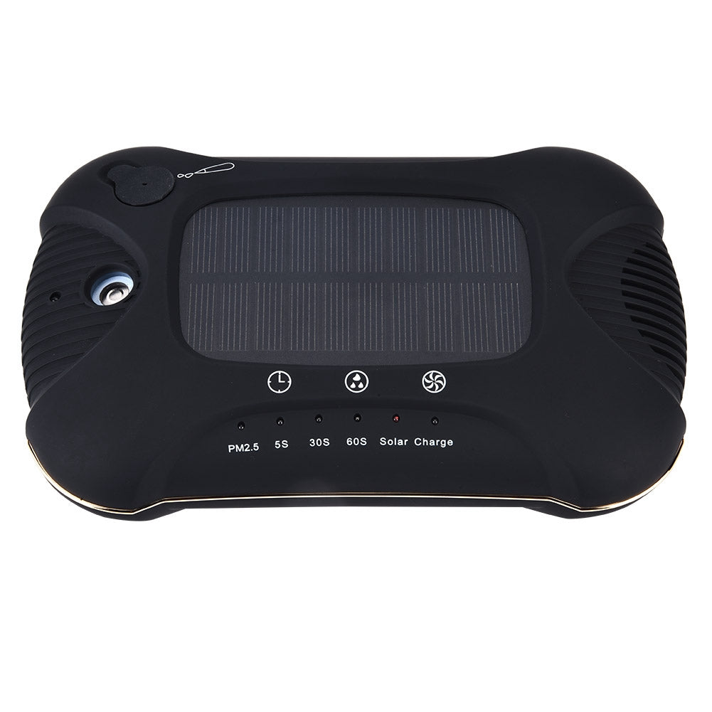 Black Portable Air Purifier Solar Powered Air, [variant_title], [option1], [option2], [option3] - anythinganyware