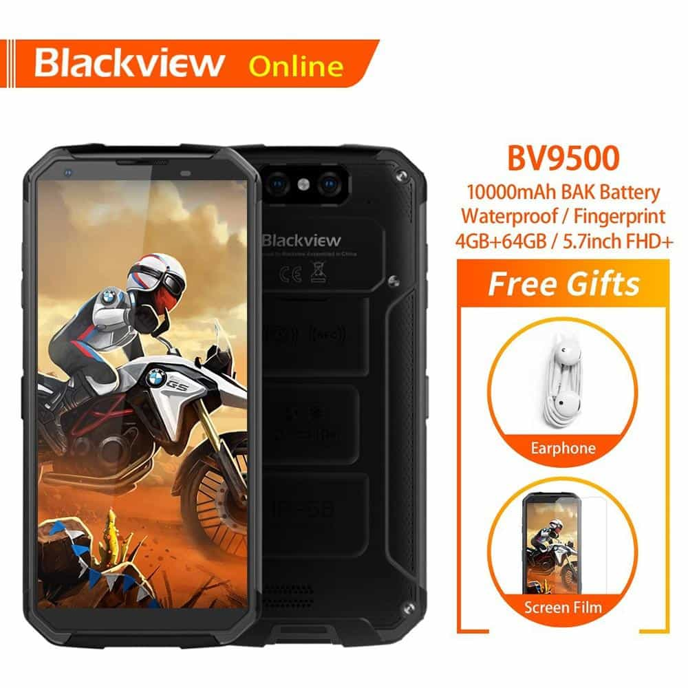 Blackview BV9500 Original IP68 Waterproof Rugged Smartphone, [variant_title], [option1], [option2], [option3] - anythinganyware
